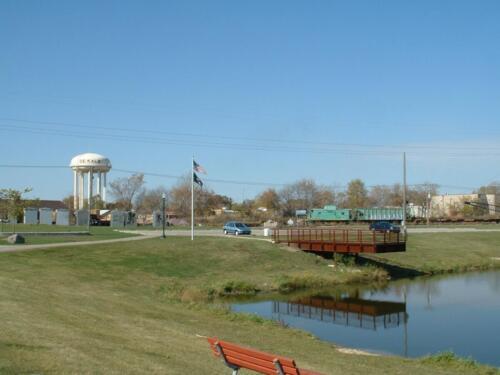 DeKalb Rotary Park dock