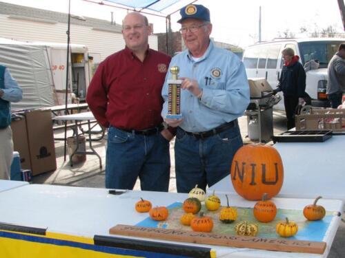 Pumpkinfest Booth Decor Award.